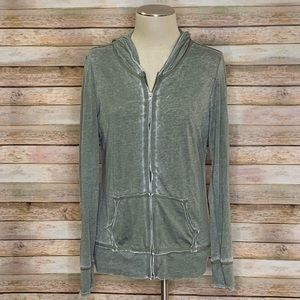 Maurices Tops - Maurices Olive Green Light Weight Sweatshirt